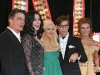 Peter Gallagher, Cher, Christina Aguilera, Steven Antin and Julianne Hough