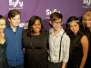 Naya Rivera, Chris Colfer, Amber Riley, Kevin McHale, Jenna Ushkowitz, and Heather Morris