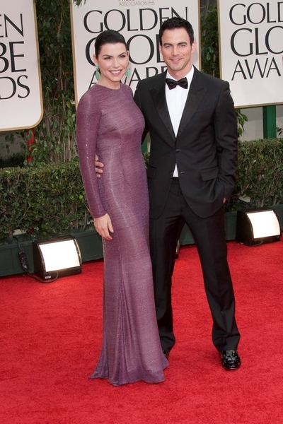Julianna Margulies and her husband Keith Liebertha