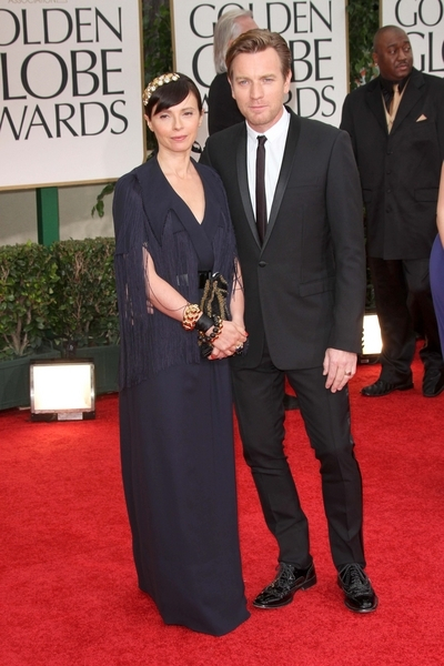 Ewan McGregor and Eve Mavrakis
