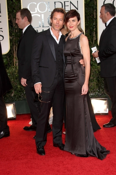 Guy Pearce and wife Kate Mestitz