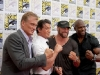 Dolph Lundgren, Sylvester Stallone, Randy Couture and Terry Crews