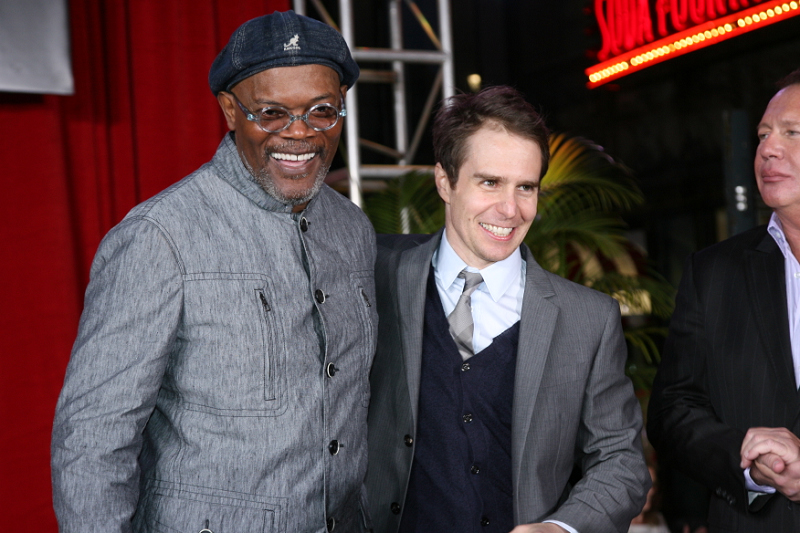 Samuel L. Jackson and Sam Rockwell