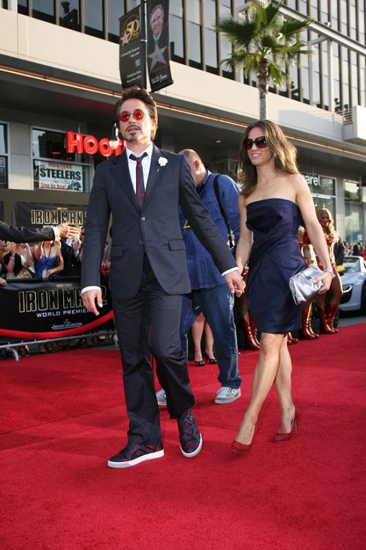 Robert Downey Jr. and wife / producer Susan Downey