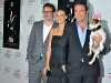 Michel Hazanavicius, Jean Dujardin, and Uggie the Dog
