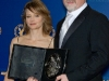 David Fincher and Jodie Foster
