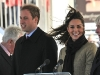 Prince William and Fiancee Kate Middleton