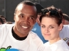 Kristen Stewart and Sugar Ray Leonard