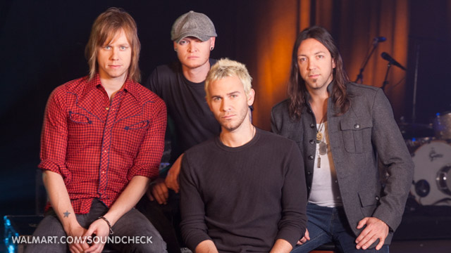 Lifehouse at Walmart Soundcheck
