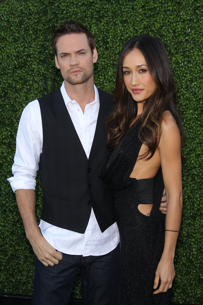 Shane West and Maggie Q