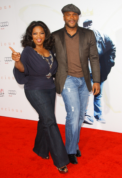Oprah Winfrey and Tyler Perry