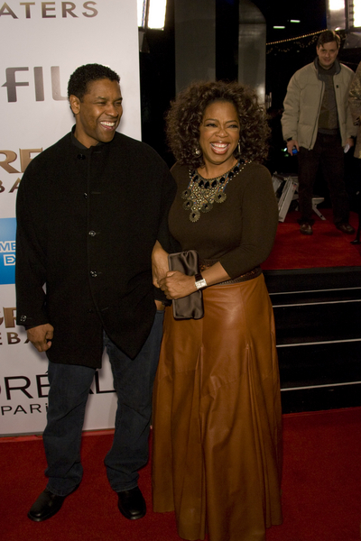 Denzel Washington and Oprah Winfrey