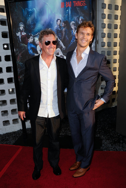 Ryan Kwanten with father