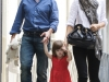 Tom Cruise, Katie Holmes and Suri Cruise