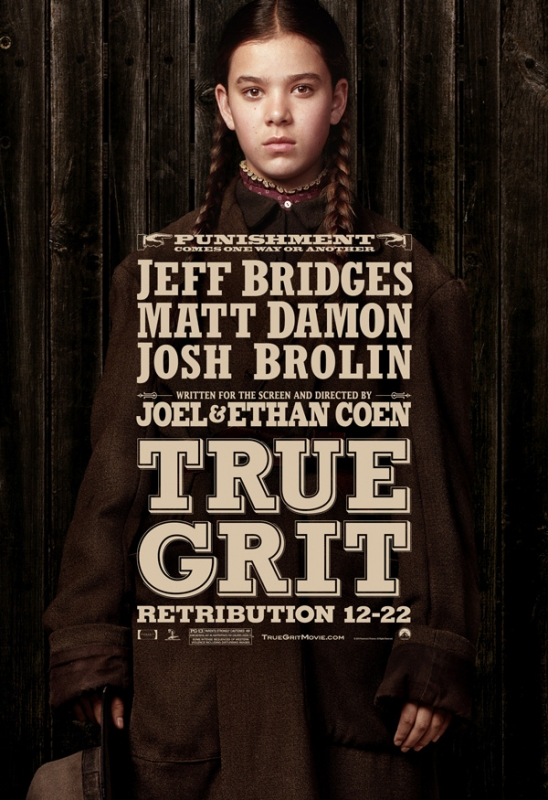 True Grit Character Posters