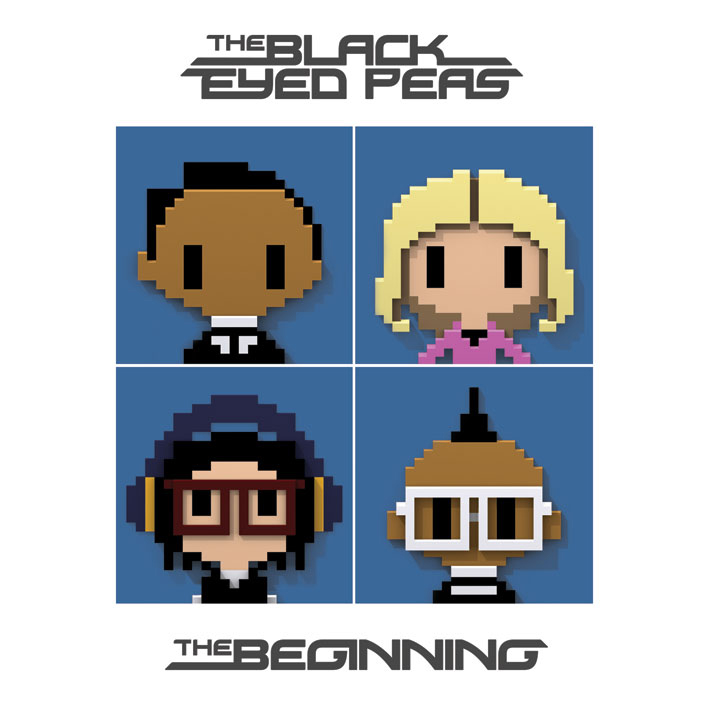 "the black eyed peas album cover the beginning. The Black Eyed Peas release album cover art for ""The Beginning"""