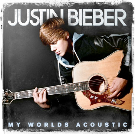 "Justin Bieber reveals ""My Worlds Acoustic"" album cover artwork"
