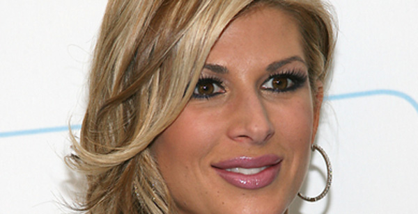 """Orange County Housewives Alexis. """"Alexis told me that"""