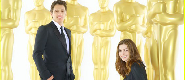 James Franco and Anne Hathaway - Academy Awards Hosts