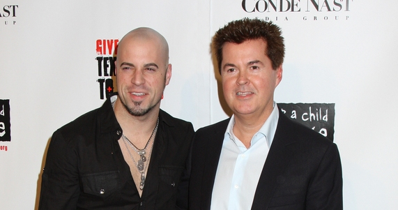 Daughtry and Simon Fuller