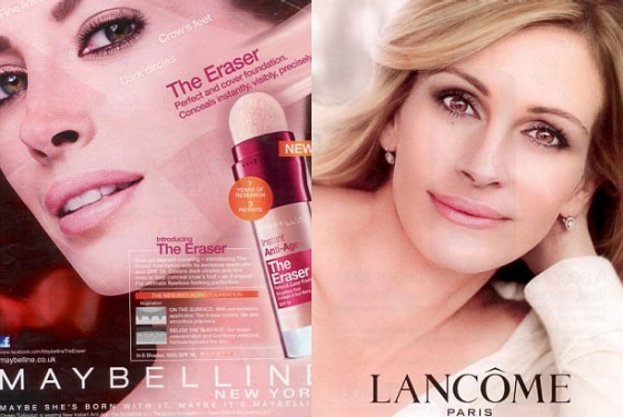 Photos:  Courtesy of Maybelline and Lancome