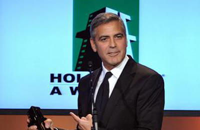 George Clooney at Hollywood Awards 400x260