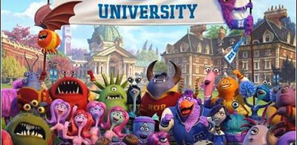 Monsters University 600x300