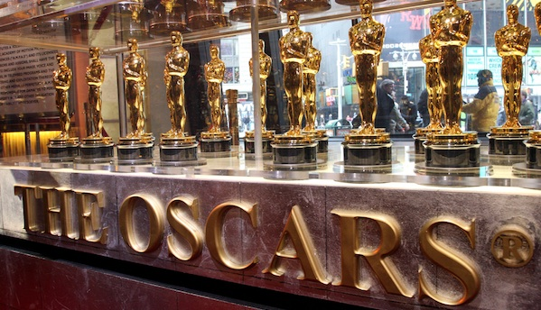 the OscarsGolden Statuettes