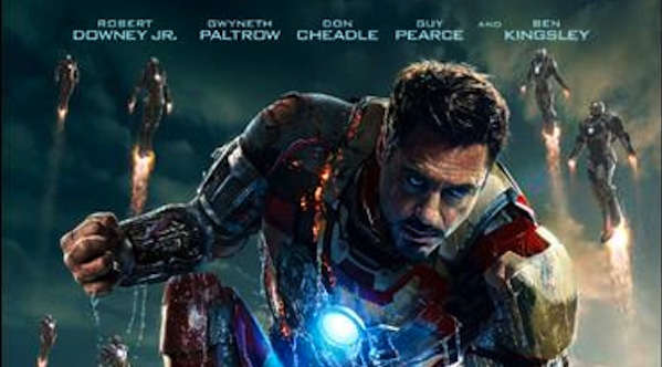 Iron Man 3 Robert Downey Jr. 600x332