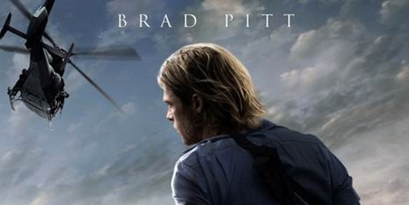Brad Pitt poster WORLD WARD Z 600x300