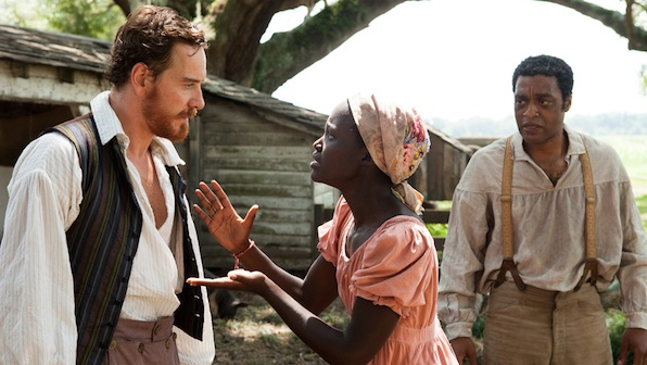 12 years a slave  Chiwetel Ejiofor Lupita Nyong'o MIchael Fassbender