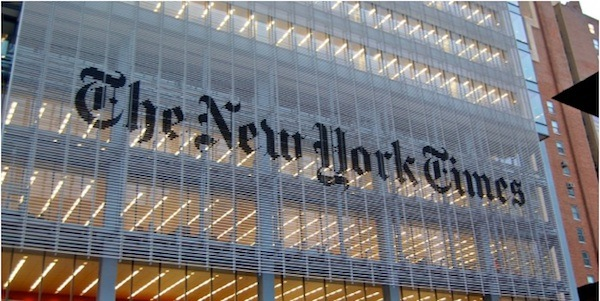 New York Times building 600x300