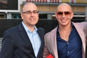 Mark Bracco  with Pitbull x