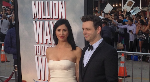 A Million Ways to Die in the West Sarah Silverman Michael SHeen in the West 600x340