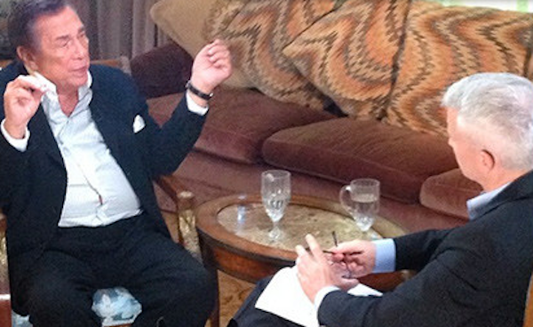 Donald Sterling with Anderson Cooper 600x360