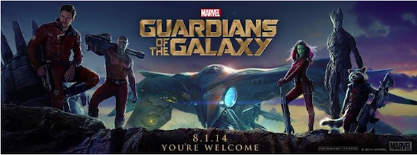 Guardians of the Galaxy 600x223