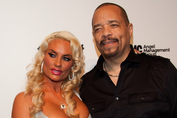 "Ice-T and Coco Celebrate the Second Season of ""Ice Loves Coco"" at Pure Nightclub in Las Vegas on February 11, 2012"
