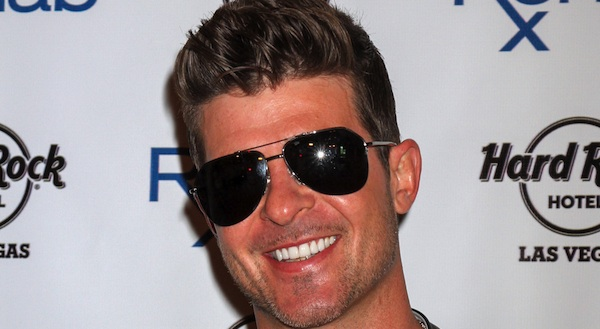 Robin Thicke Launches the 11th Season of Rehab at Hard Rock Las Vegas on April 12, 2014