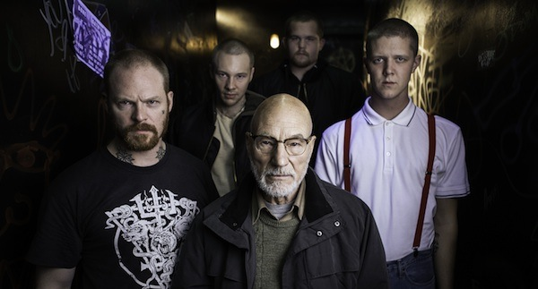 Patrick Stewart and Skins Green Room 600x350