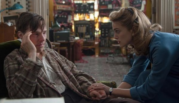 The Imitation Game Benedict Cumberbatch Keira Knightley 600x360