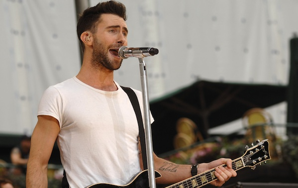 "Maroon 5 Performs on ABC's ""Good Morning America Summer Concert Series""  - June 27, 2008"