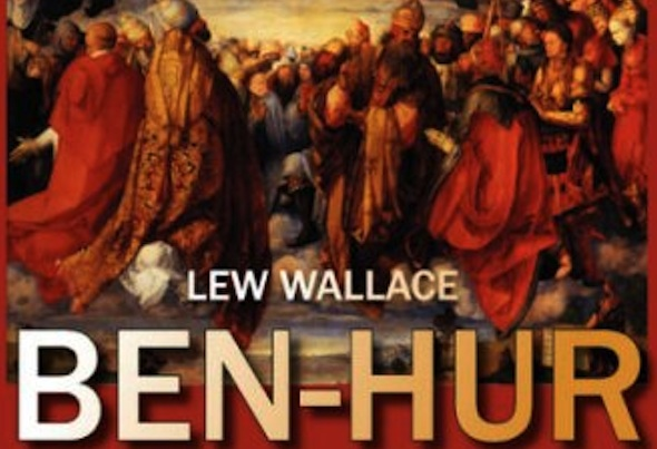 Ben Hur A Tale of the Christ Book Cover 600 x400