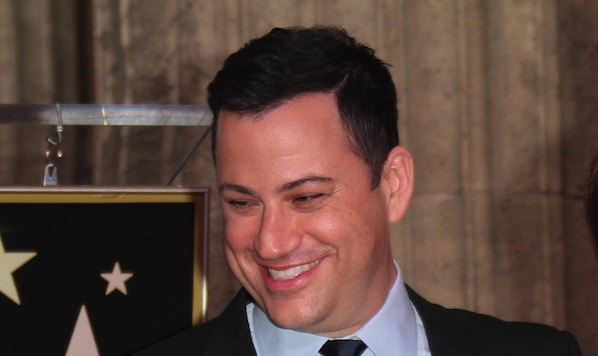 Jimmy Kimmel Honored with a Star on the Hollywood Walk of Fame on January 25, 2013