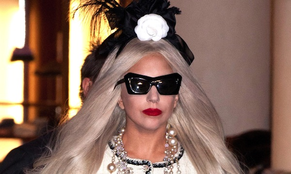 Gaga's Workshop Ribbon Cutting with Lady Gaga at Barneys New York on November 21, 2011