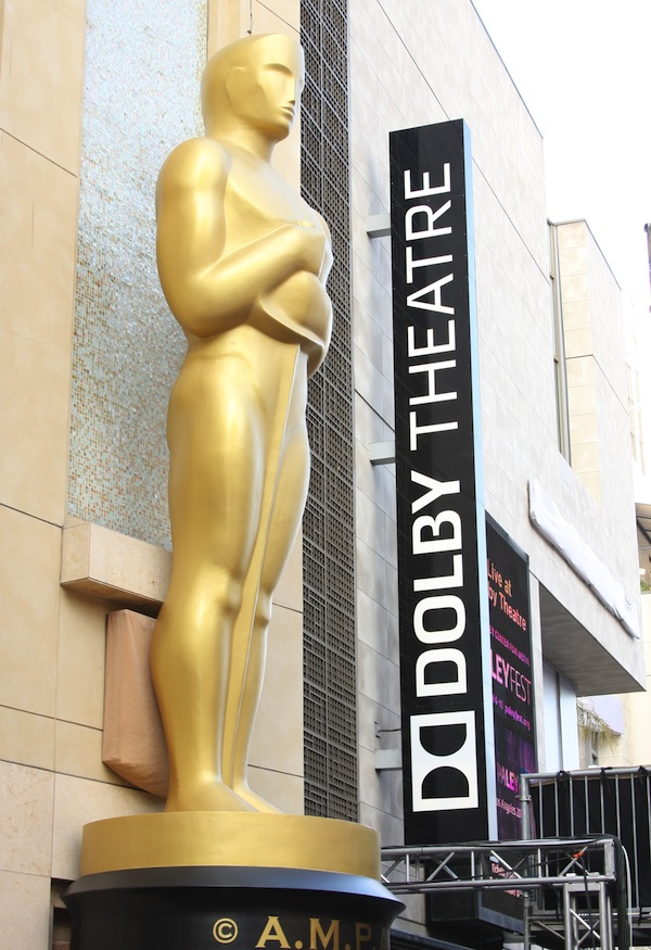 87th Annual Academy Awards Set Up