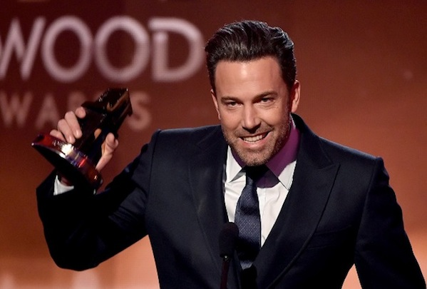 Ben Affleck at Hollywood Film awards