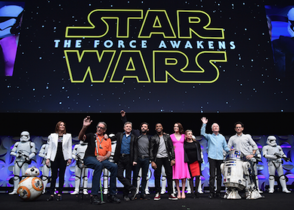 Star Wars The Force Awakens celebration photos 1