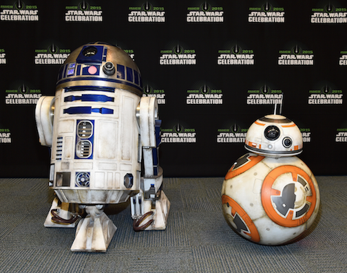Star Wars The Force Awakens celebration photos 4