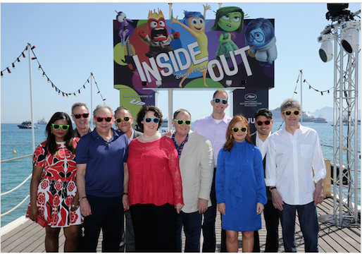 Inside Out Disney n Cannes 2015