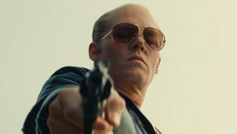 Black Mass shooting Johnny Depp